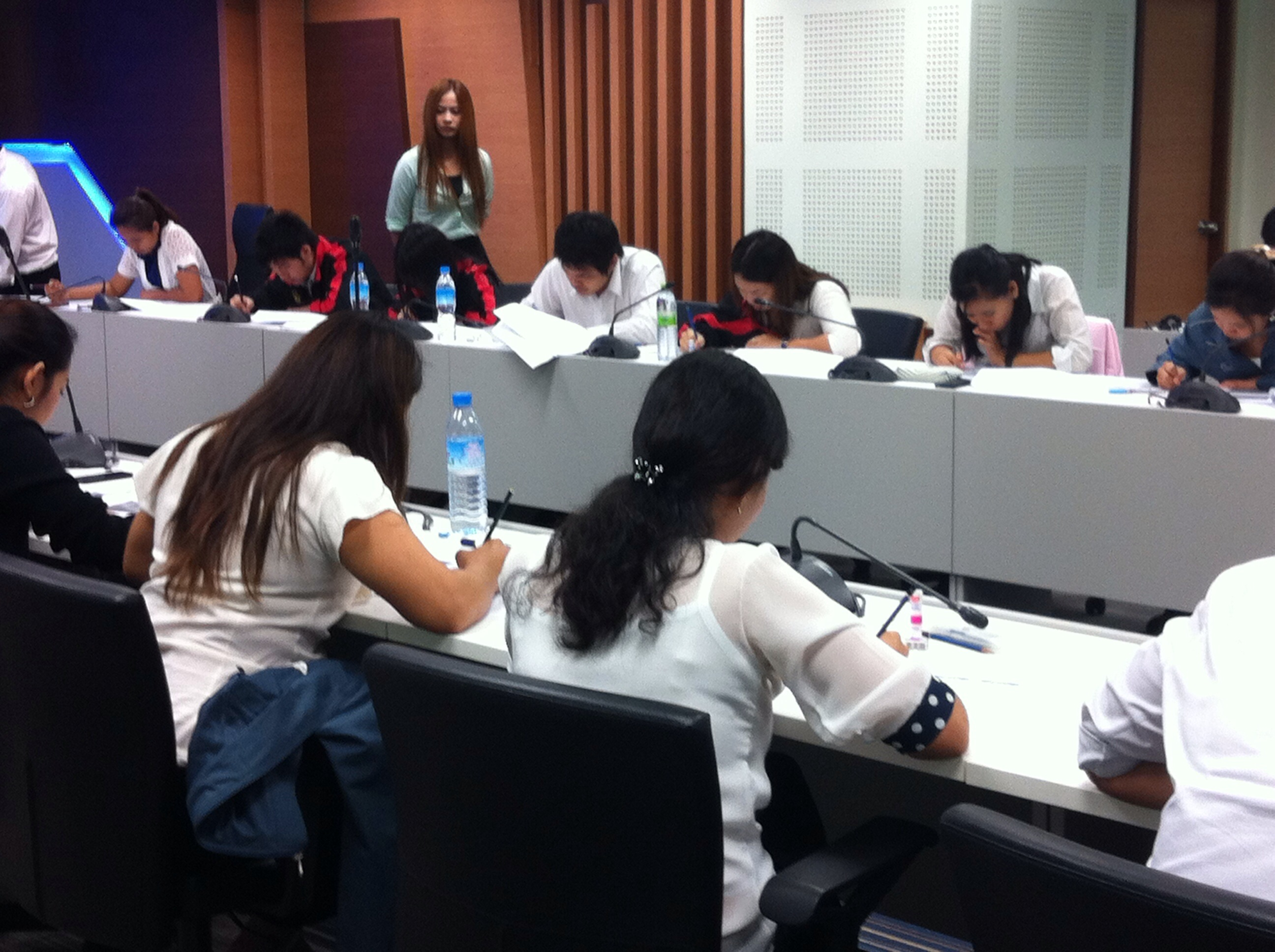 TOEIC Post-Test สำหรับ TOEIC Corporate Programs ที่ กกท.